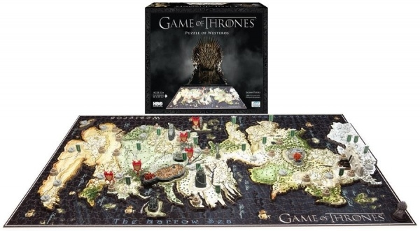 4D PUZZLE Cityscape Time Game Of Thrones Puzzle of Westeros