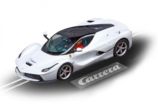 Auto Carrera Evolution La Ferrari (white)